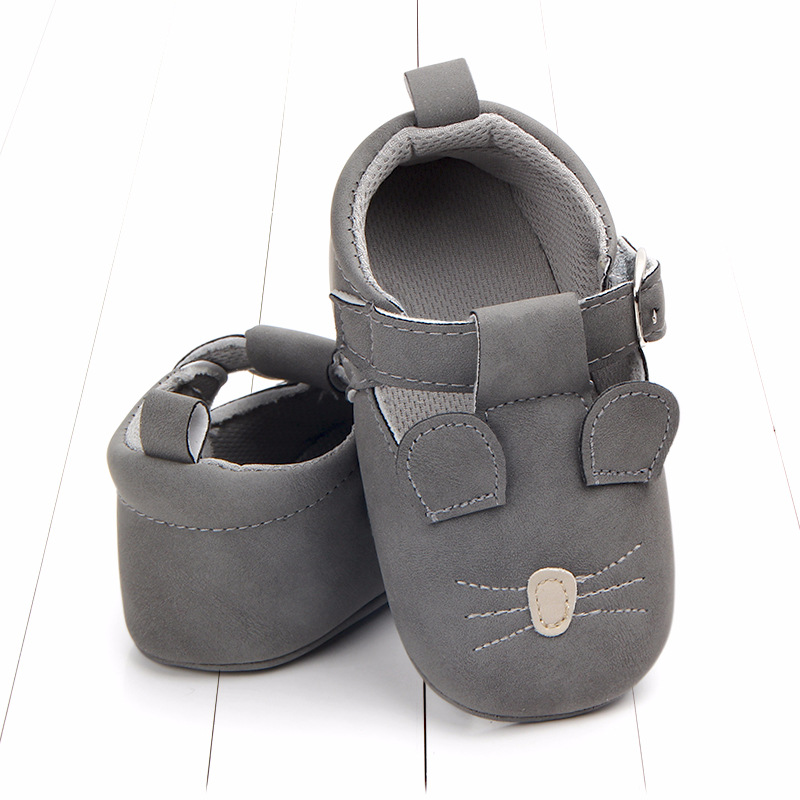Baby First Walkers Matte leather Shoes for Baby Girl Boy Cartoon Animal Newborn Slippers Footwear Booties Kids Gift Child Shoes (13)
