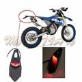 Polisport Motocicleta LED Luz Trasera y Guardabarros Trasero Detener luz trasera Pista MX Enduro Supermoto KTM EXC CR WRF 250 400 426 450
