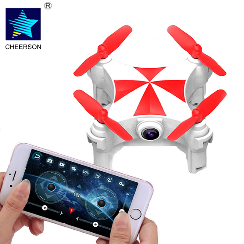 Cheerson CX-OF Slefie Drone RC Quadcopter with Camera Wifi FPV Optical Flow Dance Mode BNF & RTF Mini Drones RC Helicopter