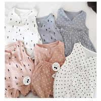 Sommer Baby Jungen Mädchen Hause tragen Set 2 stücke Blick Baumwolle Weiche Kinder Kinder Shirt + Shorts Gedruckt Sterne Mädchen lounge Tragen Pyjamas set