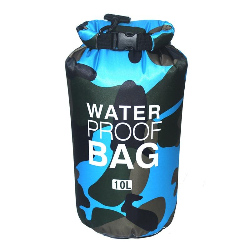 Suya davamlı çanta Ultralight Camping Quru Təşkilatçı - İdman çantaları - Fotoqrafiya 4