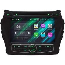 """8 """"Android 7.1 Quad Core 2 GB RAM 2 Din HD coche estéreo reproductor de DVD Bluetooth USB/TF FM para Hyundai IX45/Santa Fe 2013-2016"""