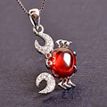 New style Fashion jewelry Silver Plated jewelry Long Luxury choker Kids girls Necklaces & Lovely crab pendants for Women Gift