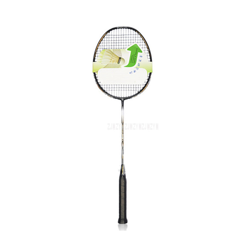 Ultralight 87g Single Full Carbon Badminton Rackets Racquet Carbon Fiber Sports Training Professional Badminton Rackets N90 III