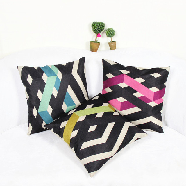 40 Fashion Multicolor Decorative Pillows Office Cushion Decorate Mesmerizing Multicolored Decorative Pillows