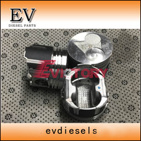 For kubota B7410 Tractor engine parts D782 piston and piston ring set piston ring set piston set piston engine parts -