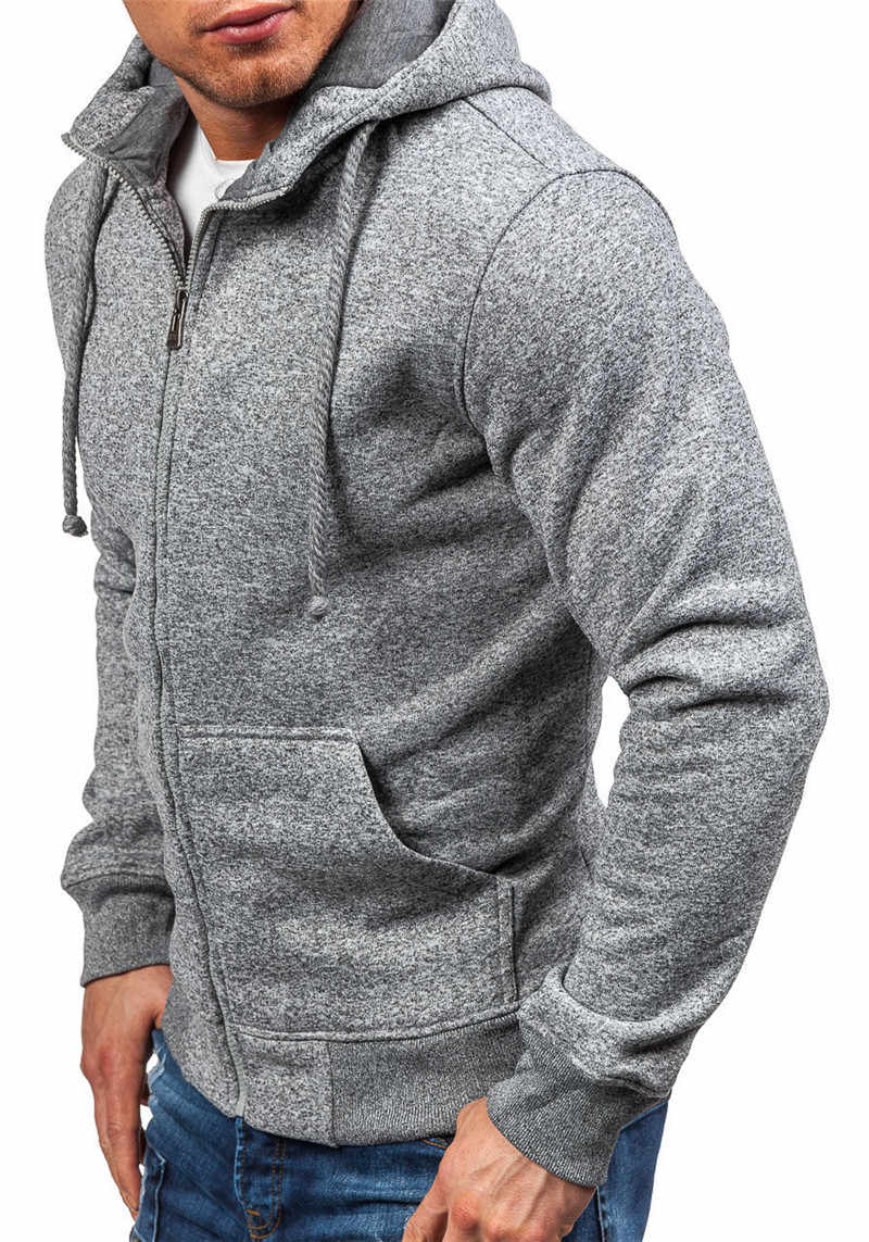 Hoodie Mannen Zip Vest Rits Sweaters Zwart Grijs Jassen Pull Homme Hiver Sueter Hoodies Zweet Shirt Voor Mannelijke Streetwear
