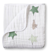 ant anais Multifunctional Gauze Newborns Receiving Blankets Bedding Infant Cotton 2Layers Swaddle Towel Muslin Baby Blanket