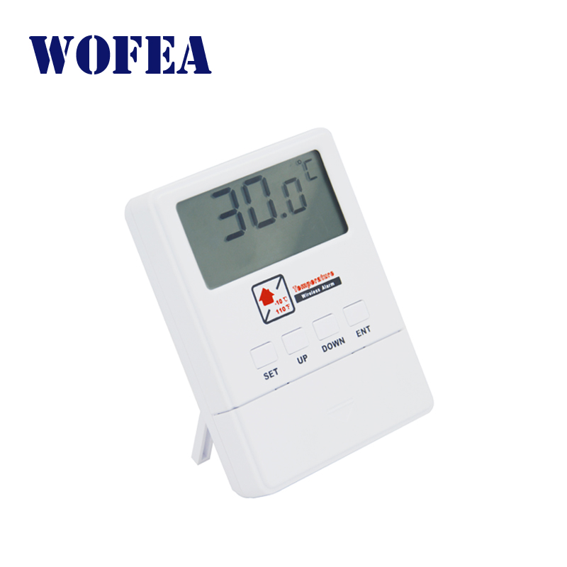 Wofea Wireless Temperature Detector With LCD Display 1527 Chips Work With GSM Alarm System
