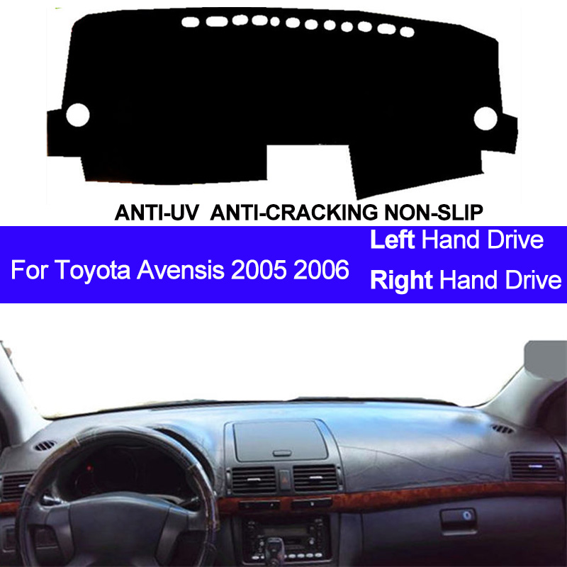 Car Dashboard Cover Dashmat For Toyota Avensis 2005 2006 Left Hand Drive ANti UV Auto Dash