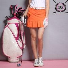 Анти-экспозиции гольф-юбки плиссированные короткая упражнение весной бренда летом юбки юбка дамы