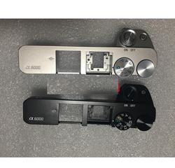 Nowość dla SONY ALPHA A6000 górna pokrywa z Popup Flash i Dial część naprawcza (czarny lub srebrny) cover for cover coverscovers for cameras -