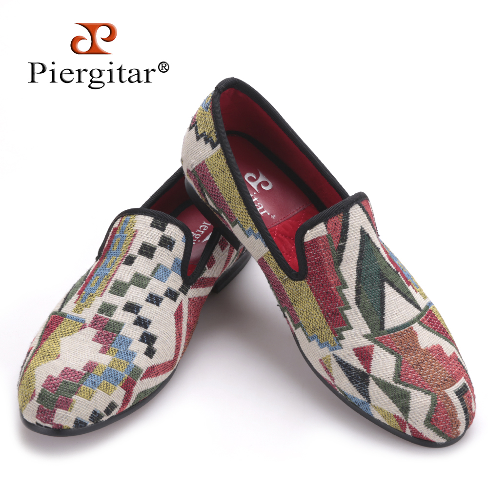 New Low poly pattern men loafers Handmade mixed colors men knitting shoes red bottom and Comfortable cotton insole men's flat 2017 new arrival comfortable genuine leather bottom and insole men loafers colourful banquet men handmade shoes party male flats