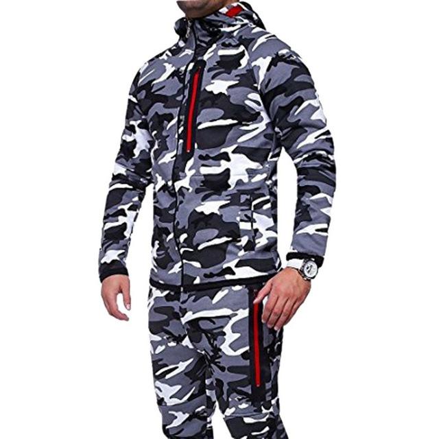 HEFLASHOR Hot Selling New Men Fashion Camouflage Jacket Autumn Male Hooded Warm Thick Coat Wholesale Plus Size 3XL