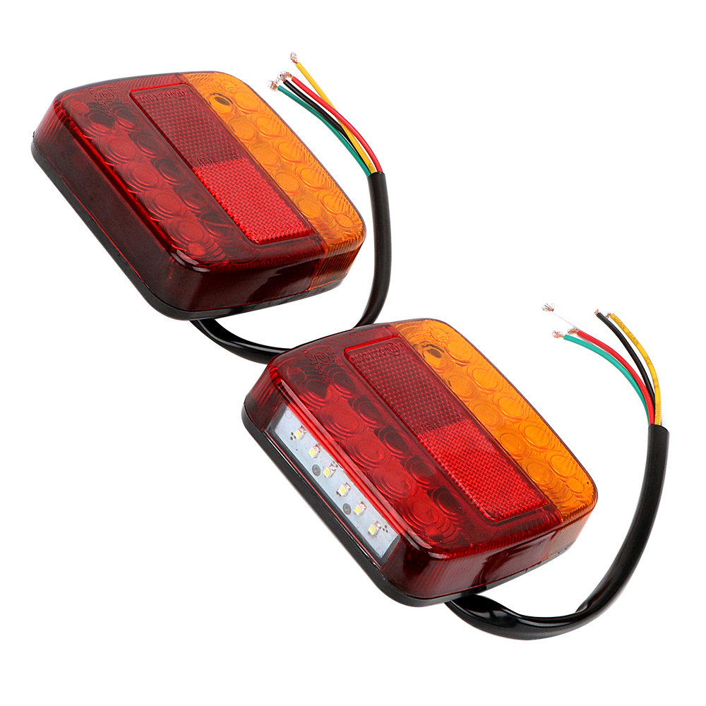 ITimo Car External Light 12V Auto Rear Lights Brake Tail Lamps 1 Pair  Truck Turn Signal Lights Accessories 1 x t25 3157 50w led car auto signal brake stop tail light bulb signal lamp white external lights