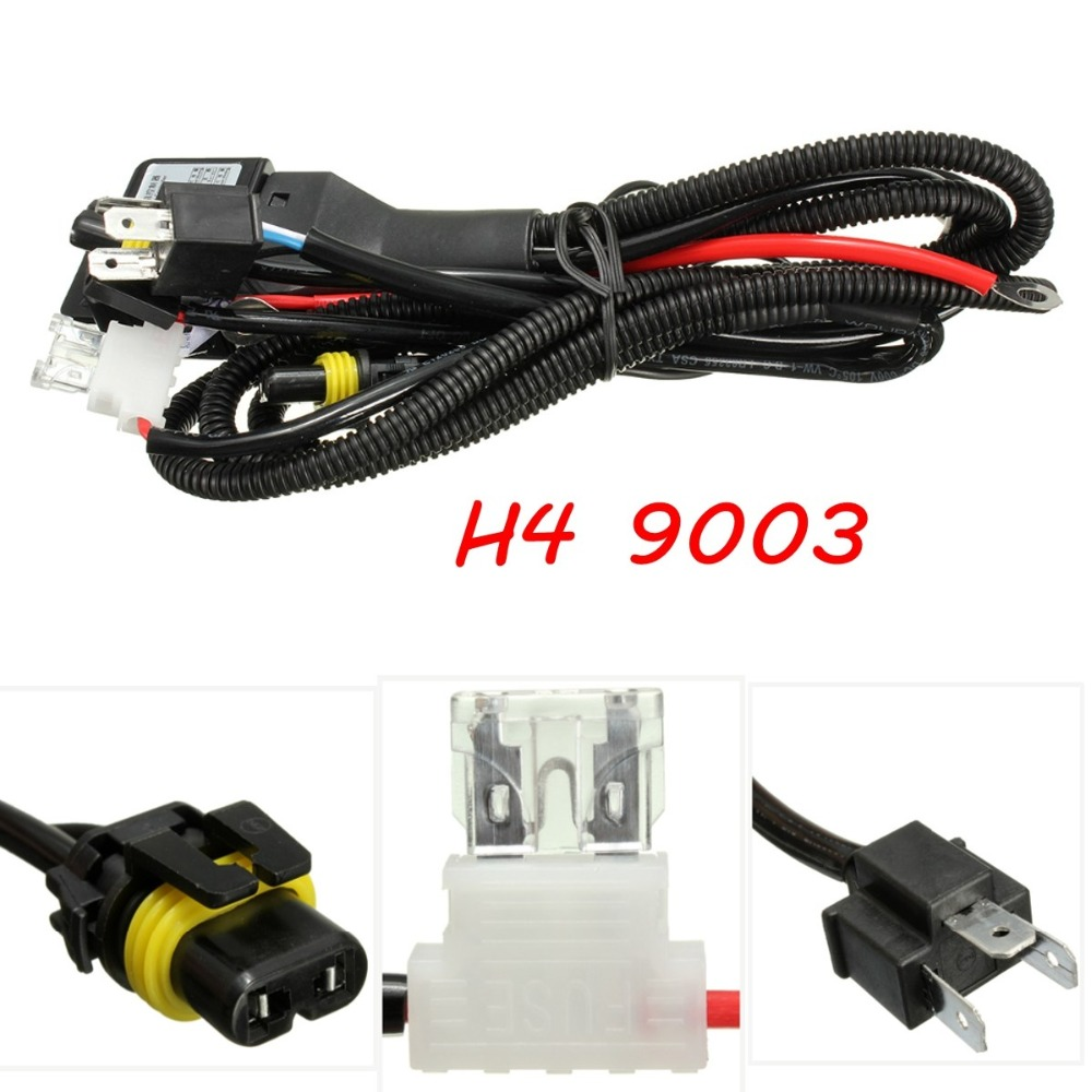 Popular Hid Cable H4 High Low Wiring Harness Controller Buy Cheap