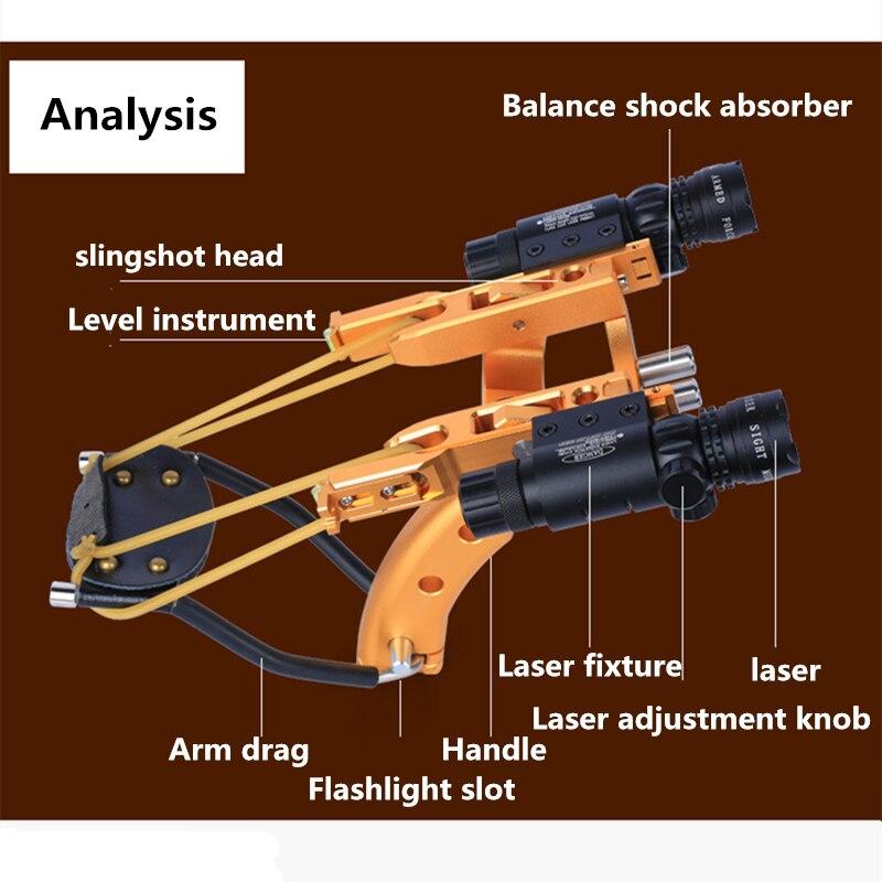 novo laser apontando estilingue poderosa caca ao 04