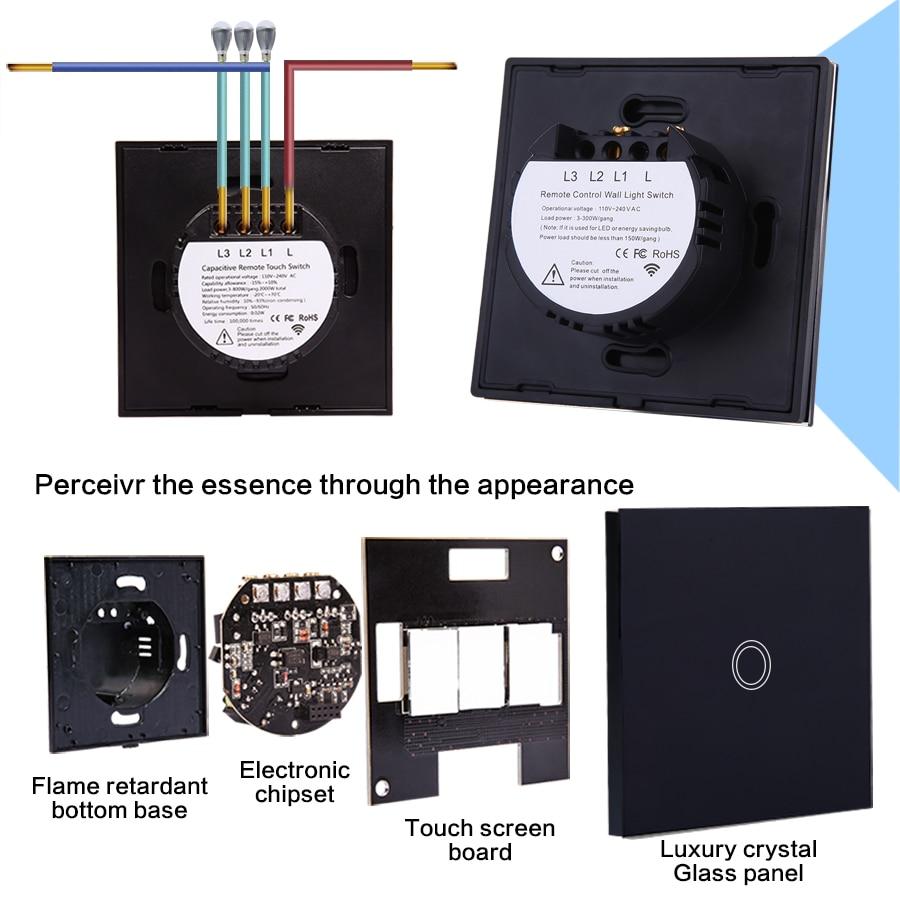 VHOME EU/UK standard Smart Home 433 mhz 1gang1way Fernbedienung ...