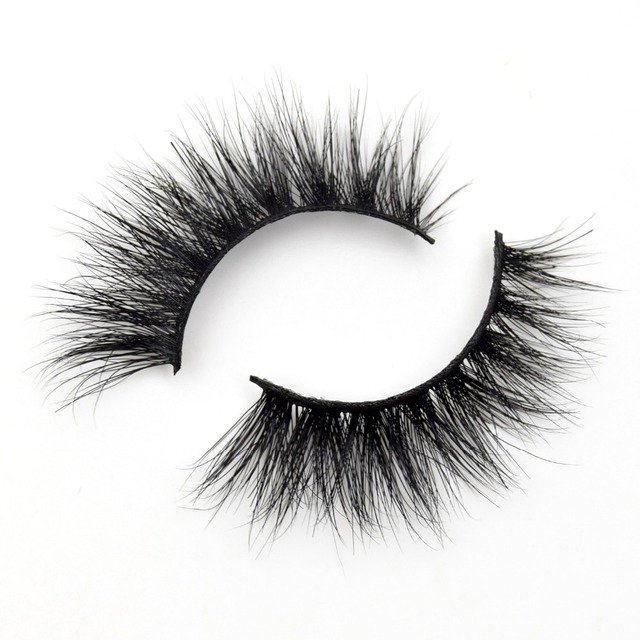 Visofree Lashes 3D Mink Eyelashes Volume Mink Eyelash Extensions Thick Mink Lashes Cruelty free Fluffy Natural False Lashes R13