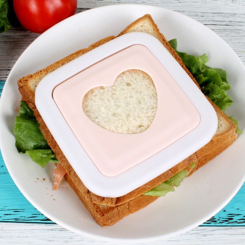 3PCS Dog Elephant Shape Sandwich Toast Bread Cutter Mold Child Kitchen Kid Craft