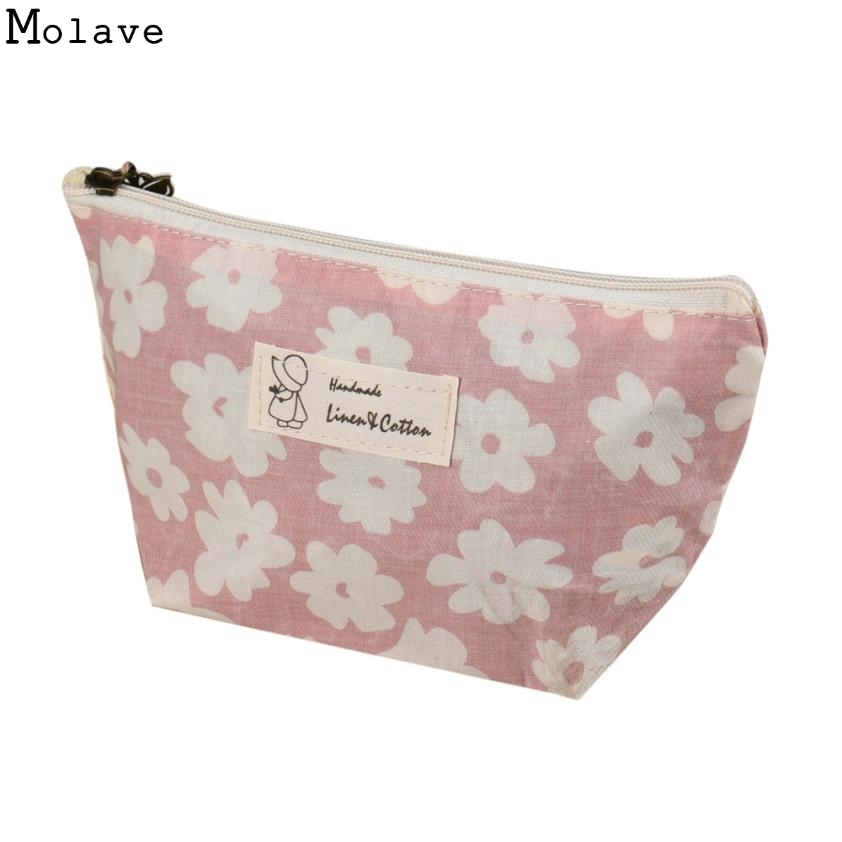 Cosmetic New Portable Women Makeup bag Toiletry bag Travel Wash pouch Cosmetic Bag Make Up Organizer Storage beauty Case D36M15 new 2018 portable travel cosmetic bag wash toiletries makeup organizer storage case purse pouch hot sales