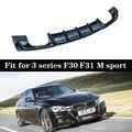 F30 диффузор заднего бампера для BMW 3 серии F30 F31 M Sport Edition 4-дверный кованый задний фонарь 318i 320i 328i 2013-2018