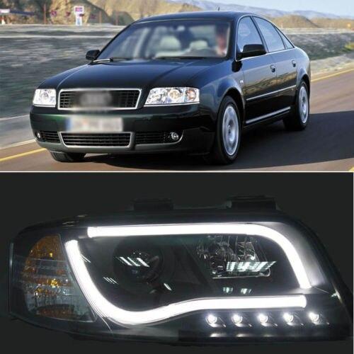 Ownsun Eski A6 Far Dönüşümü 2013 A8 5.0 T 02-2004 Audi A6 için LED Melek Göz