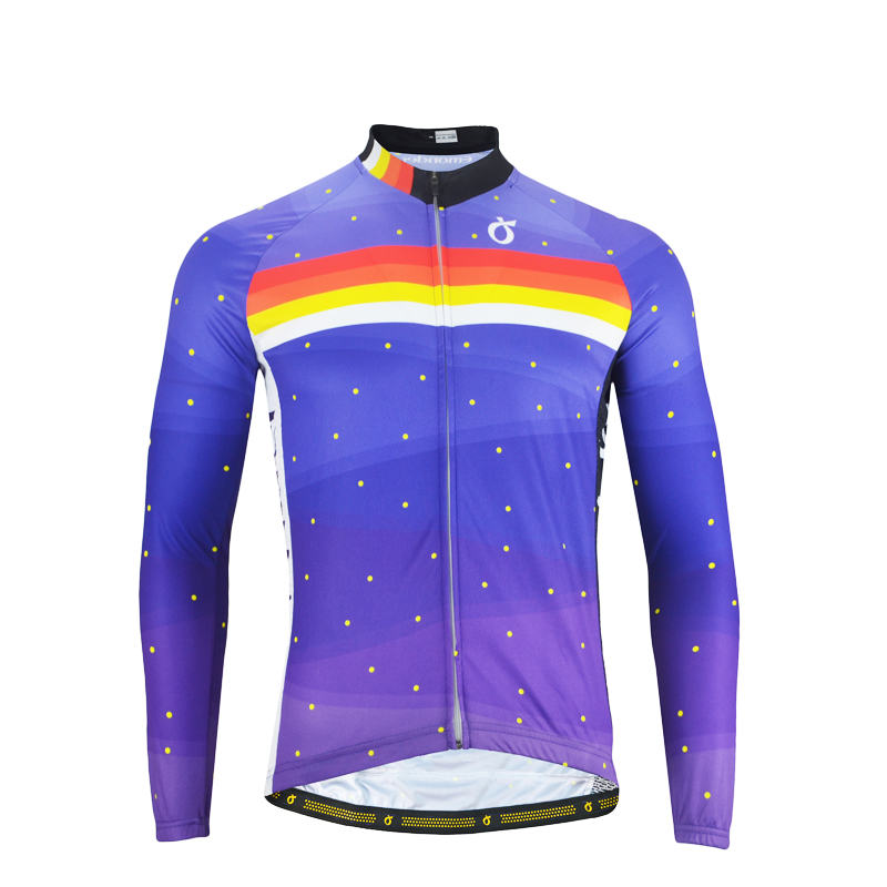 EMONDER Men/Women Long Sleeve Cycling <font><b>Jerseys</b></font> Pro Fit Road <font><b>Bike</b></font> MTB Top <font><b>Jersey</b></font> <font><b>Custom</b></font> Spring Autumn Cycling Clothings wholesale image