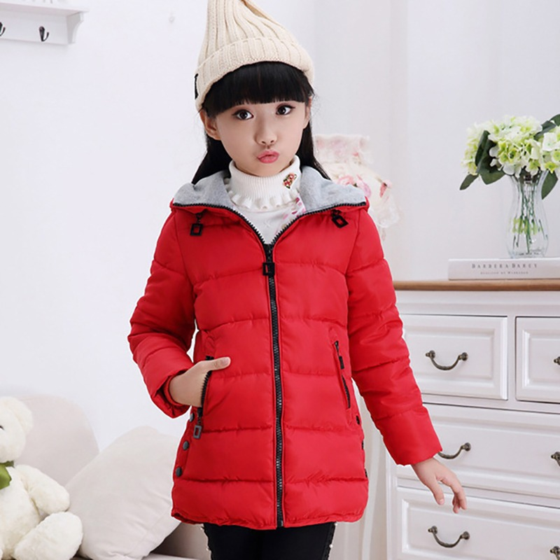 Children s Clothing Winter Girls Wadded Jacket Medium-long Child Thickening  Cotton-padded Coats Child 2593dcb60235