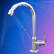 L16176 хромированной отделкой только холодная вода кухонной мойки цинка кран