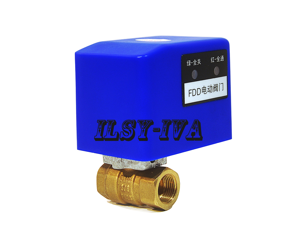 DN10 two way AC 12V 24V 220V brass motorized ball valve with three or four wires