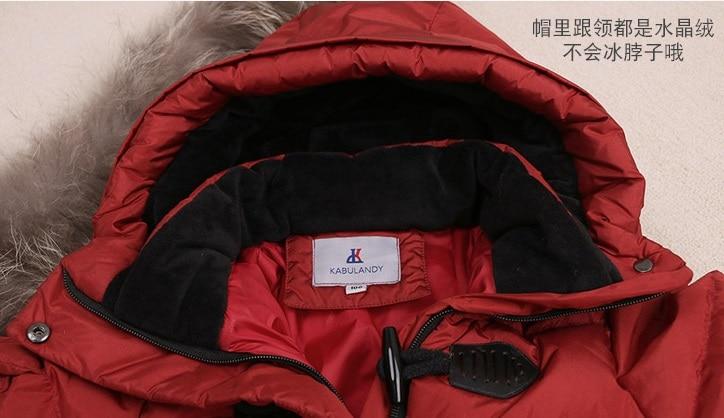 271147dba Winter Newborn Boys Bodysuits Baby Turtleneck Down Coats Girl Snow ...