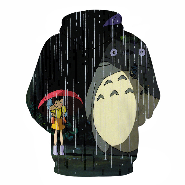 TOTORO & FRIEND 3D HOODIES