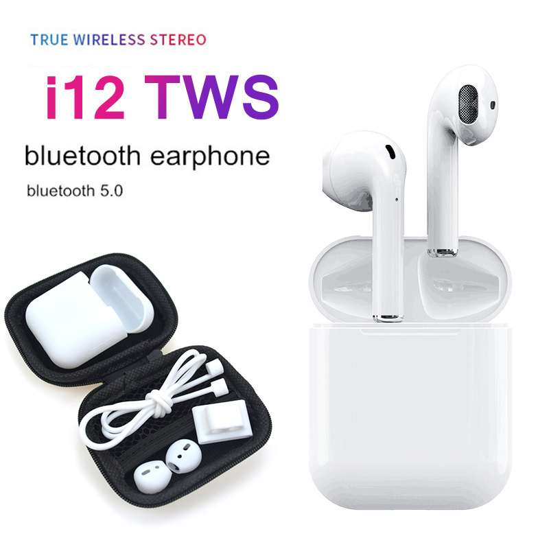 2019 Hot i12 TWS V5.0 Wireless Bluetooth Earphone Super Bass Stereo Auto Pairing Airbuds For iPhone XS Android2019 Hot i12 TWS V5.0 Wireless Bluetooth Earphone Super Bass Stereo Auto Pairing Airbuds For iPhone XS Android