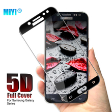 ФОТО 5d tempered glass screen protector case for samsung galaxy j3 j5 j7 pro a3 a5 a7 2017 a8 plus 2018 full cover curved edge film