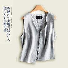 Новая корейская модная коллекция для женщин жилет летняя и осенняя одежда для детей; белье одно-многорядная Пряжка короткая заметка тонкий жилет больших размеров