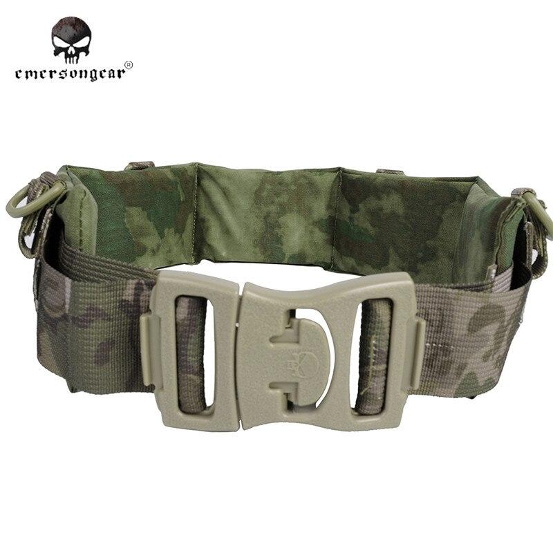ФОТО Emerson Men Nylon MOLLE Padded Patrol Belt Airsoft Combat Military Army Tactical Belt Waist Support Hunting Accessories EM9154