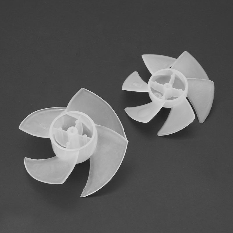 Small Power Mini Plastic Fan Blade 4/6 Leaves For Hairdryer Motor Drop Ship No28