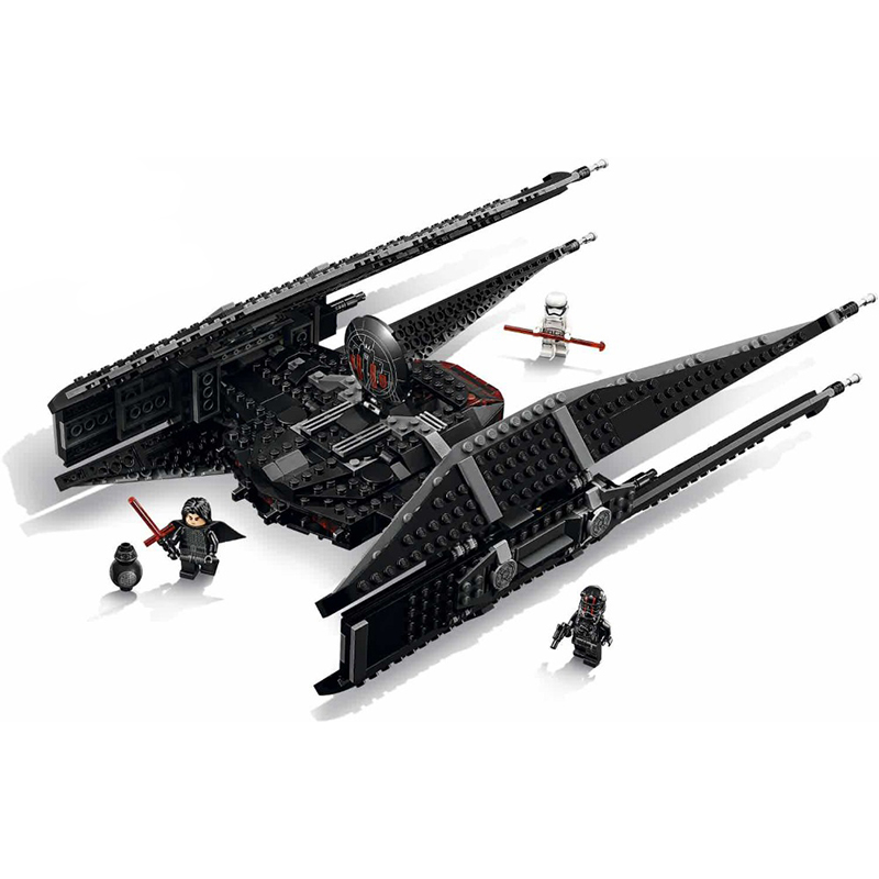 705Pcs Kylo Ren's Tie Fighter Building Block Bricks Set Compatible Legoingly 75179 Kids starwars Toys For Children Technic Gifts