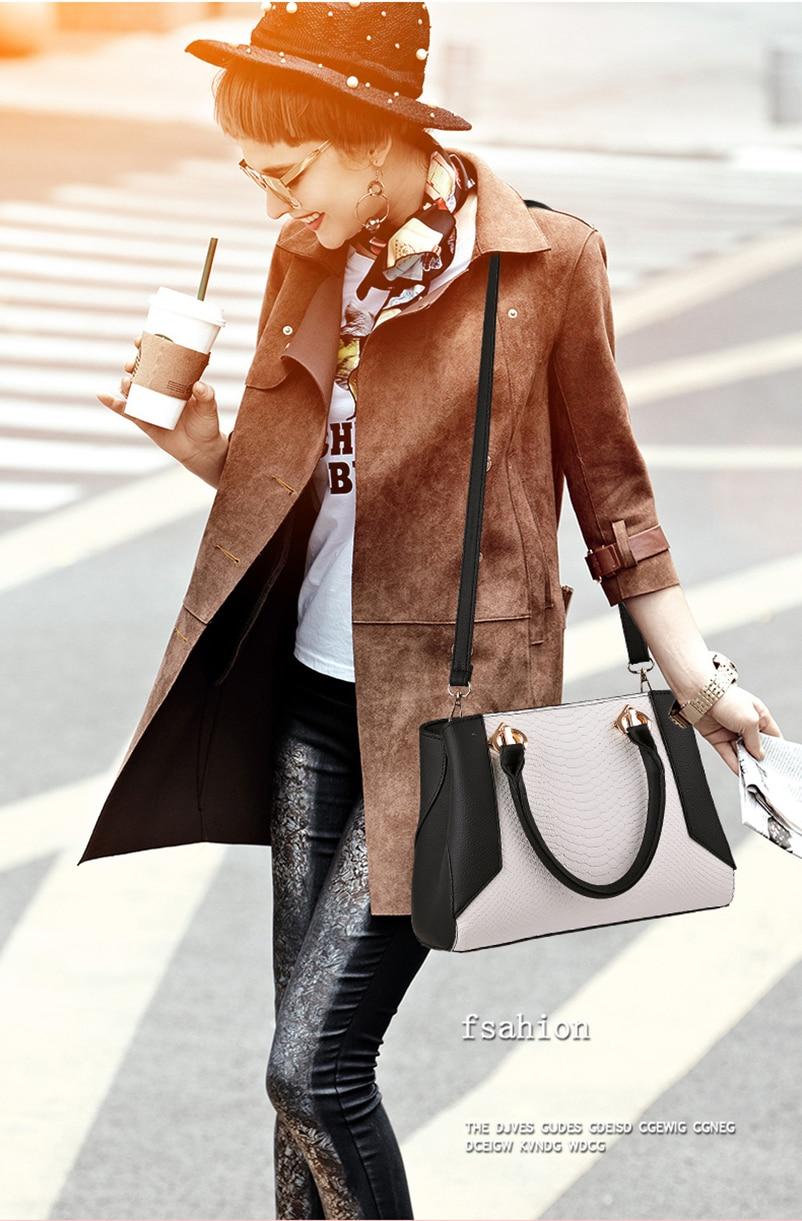 Nevenka Women Handbag PU Leather Bag Zipper Crossbody Bags Lady Bag High Quality Original Design Handbags Top-Handle Bags Tote02