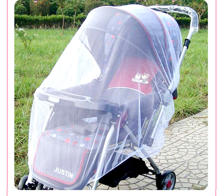 1PC Baby Stroller Pushchair Mosquito Insect Shield Net Safe Infants Protection Mesh Stroller Accessories Cart Mosquito Net