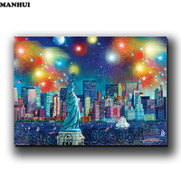 5D DIY Diamond Painting Embroidery Statue Of Liberty Pictures Rhinestone Picture Cross Stitch Pattern Home Decoration