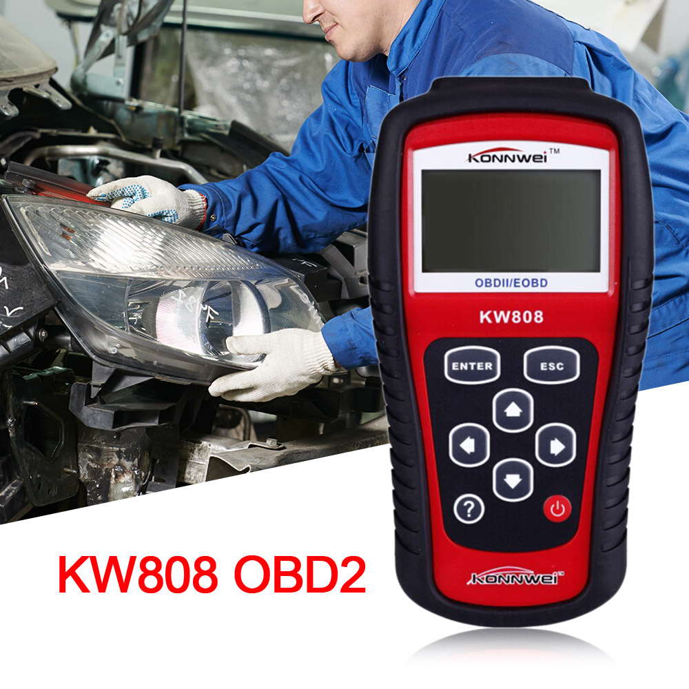 Vehicle Code Reader >> Konnwei Maxiscan Auto Scanner For Obdii Vehicles Code Reader Car