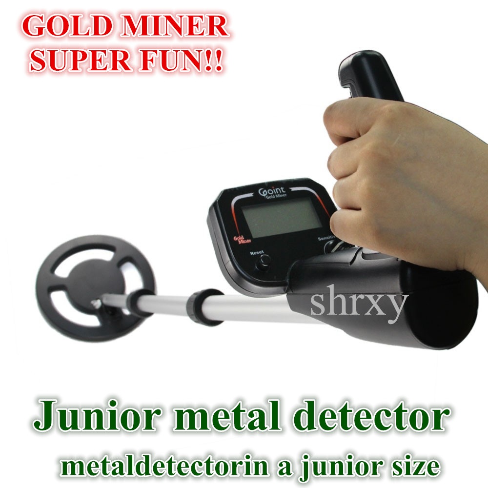 Shrxy Junior Metal Detector Kid Hand Held Underground Metal Detector Toys Gold Miner Bounty Hunter Same Stye Super Fun As Gift недорго, оригинальная цена