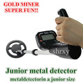 Shrxy Junior Metal Detector Kid Hand Held Underground Metal Detector Toys Gold Miner Bounty Hunter Same Stye Super Fun As Gift