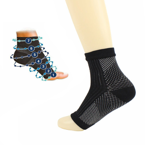 Original Quality Copper Infused Magnetic Foot Support Compression Foot Support Compression Sock for Men Women Islamabad