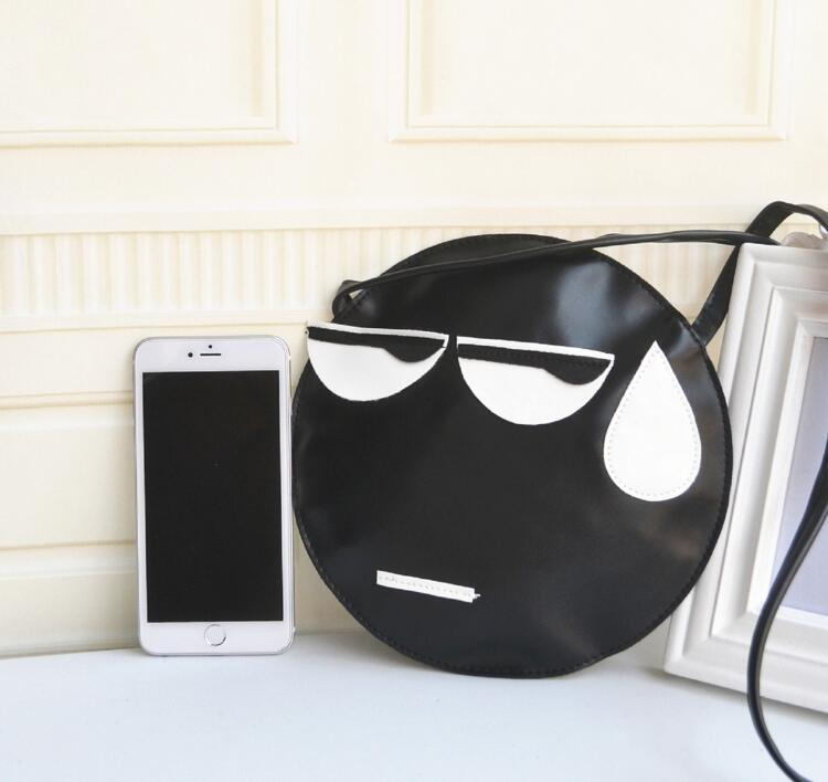 Aliexpress.com : Buy Custom PU Imitation Leather Round Pouch Sling ...