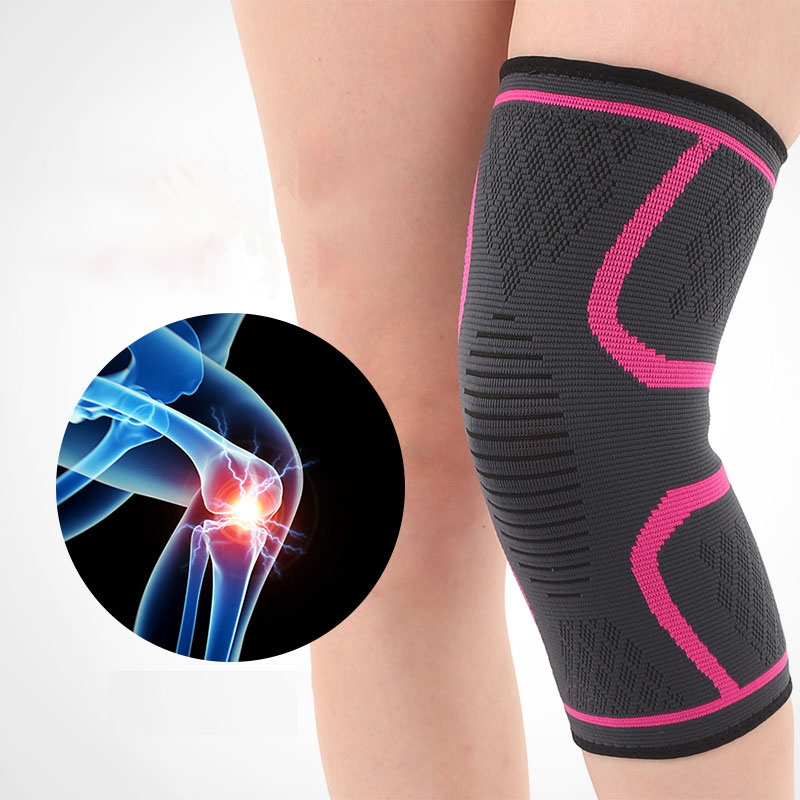 Knee Protector High Elasticity Knee Support Pads Breathable Relieve Arthritis Basketball Train Gym Sports Outdoor Guard Kneepad