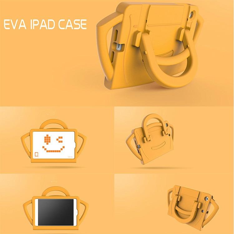 For Apple iPad 2 3 4 EVA Foam Shockproof Case for iPad2 ipad3 ipad4 Funda Coque Children Kids Cute TV Stand Protective Cover