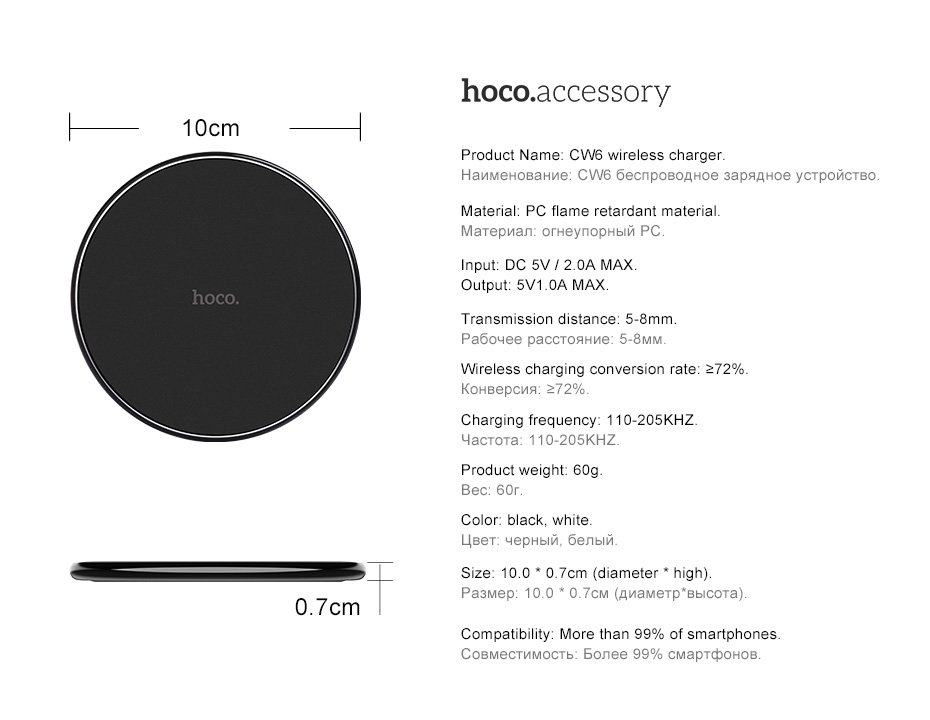 Wireless Charging Pad for iPhone/Android _13